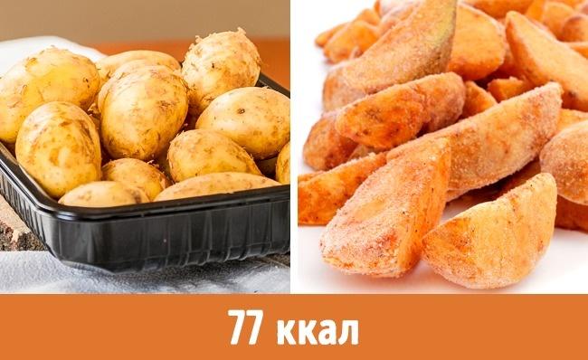 © depositphotos  © depositphotos  Замороженный картофель посвоим свойства ничем неусту