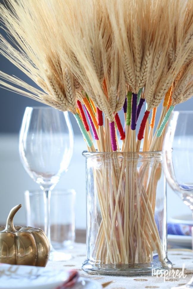 © inspiredbycharm  Посмотрите, каким отличным дополнением для букета изсухой пшеницы могут бы