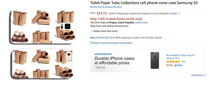 Втулки от туалетной бумаги, чехол для Samsung S5.