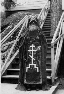 Схимник у Конь-камня.