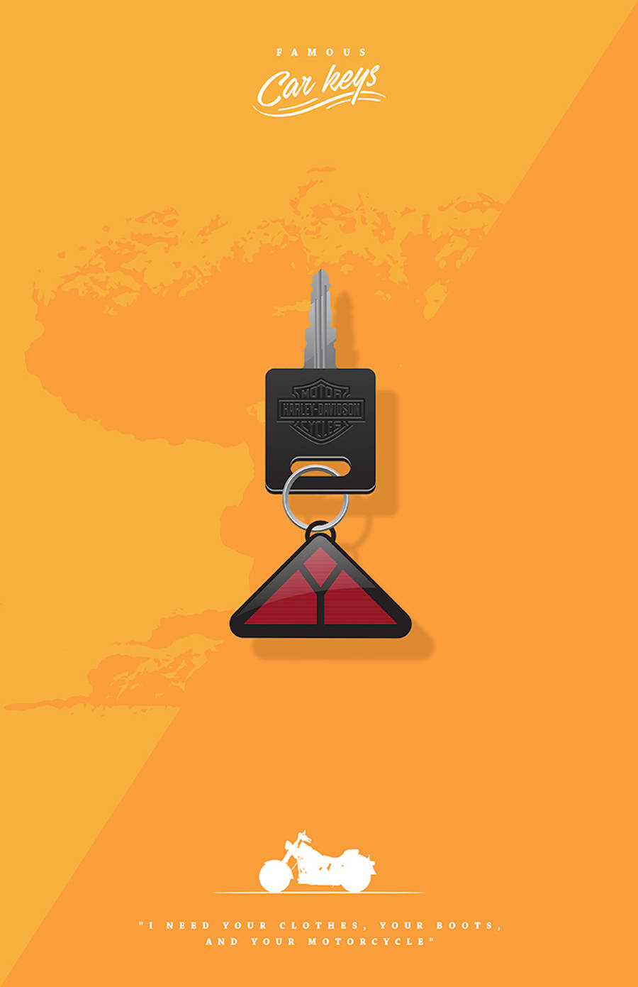 Famous Car Keys Related to Pop Culture Movies
