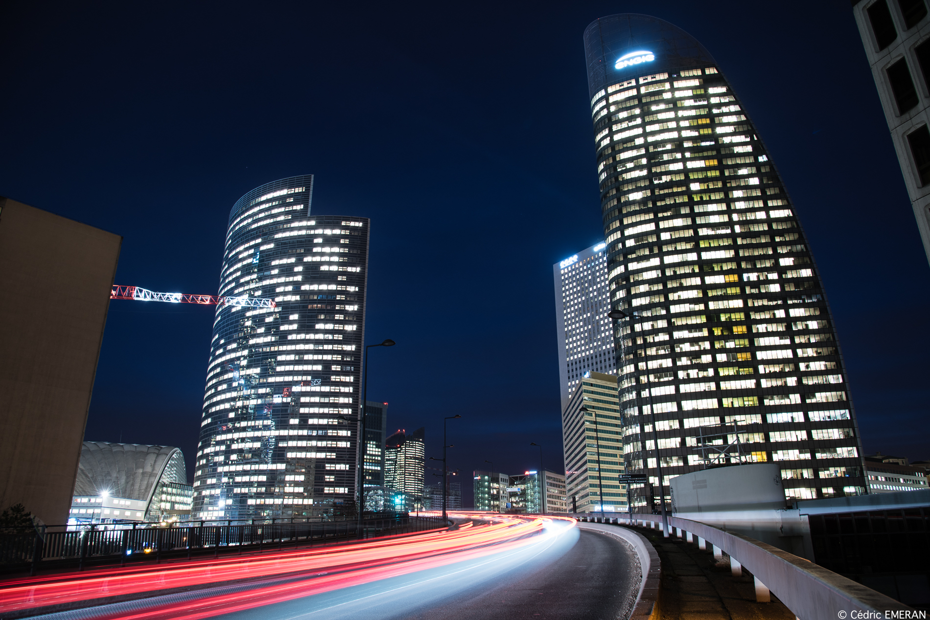 Cedric Emeran Explores La Defense by Night