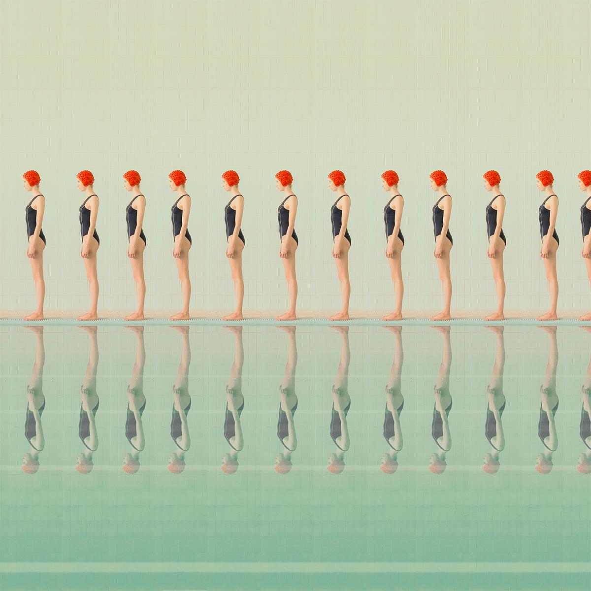 New Swimming Pool Series by Maria Svarbova