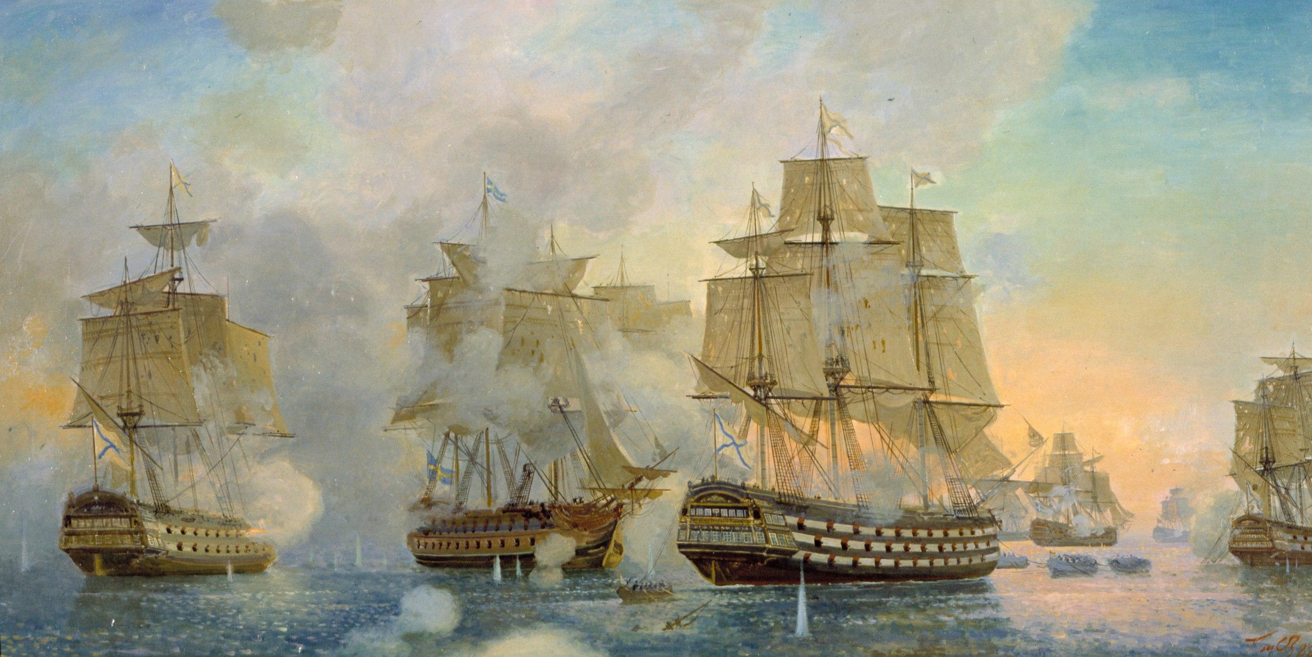 Гогландское сражение 6 июня 1788 года. 1988.jpg