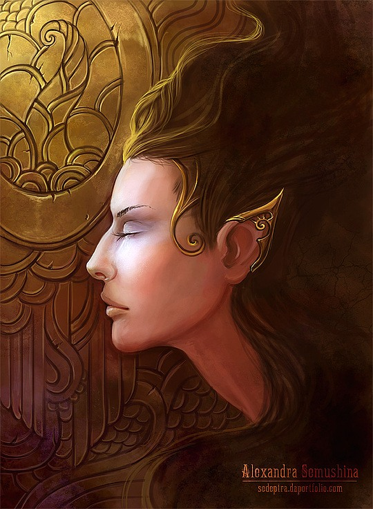 Digital Illustrations by Alexandra Semushina