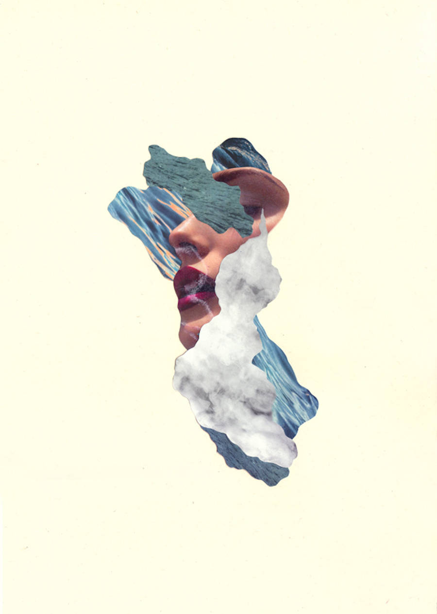Poetic Minimalist Collages