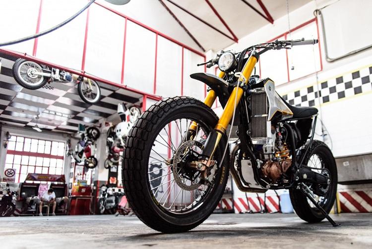 Meccanica Serrao d'Aquino: трекер Yamaha WR400