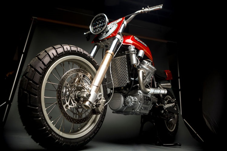 Other Life Customs: скрэмблер Honda GL500 Silver Wing