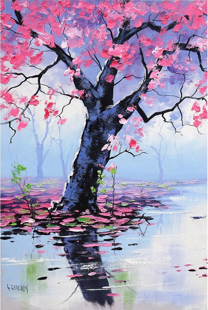 Грэм Геркен. Голубые горы, розовые деревья.