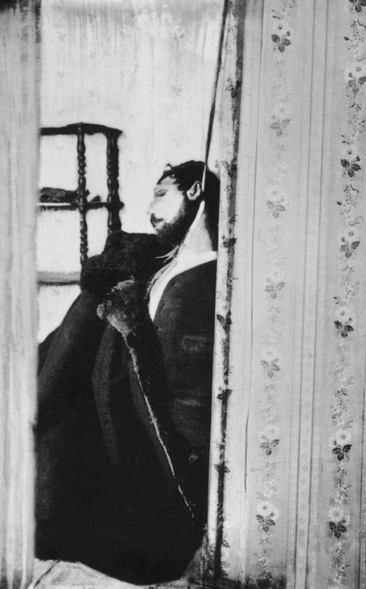 1906. Труп Георгия Гапона, повешенного его бывшими сторонниками - членами Собрания русских заводских рабочих