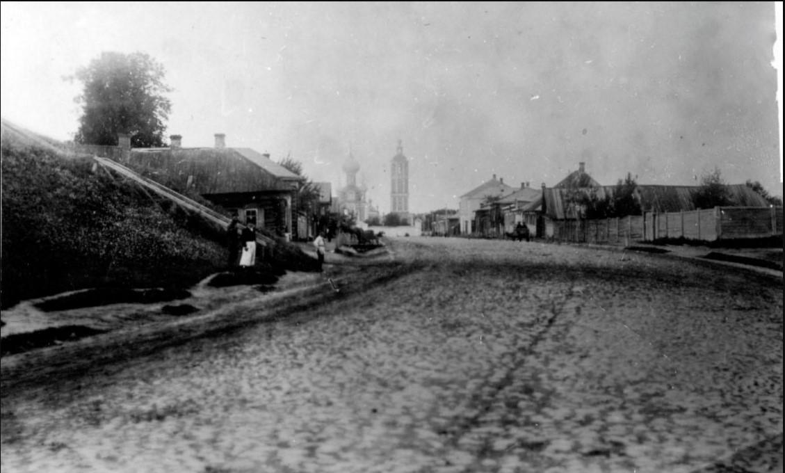 Перспектива Московской улицы от перекрёстка с Лабазной, 1880-е