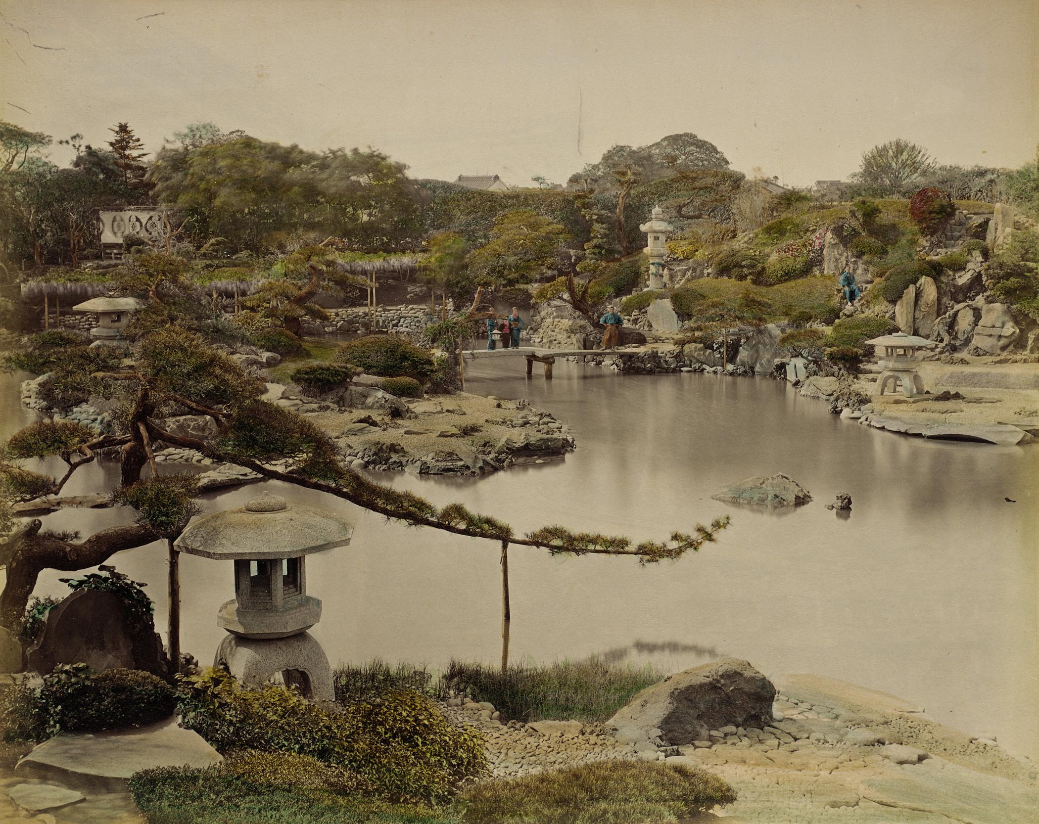 Токио. Сад принца Хотта