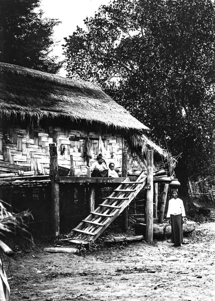 870. Дом в деревне