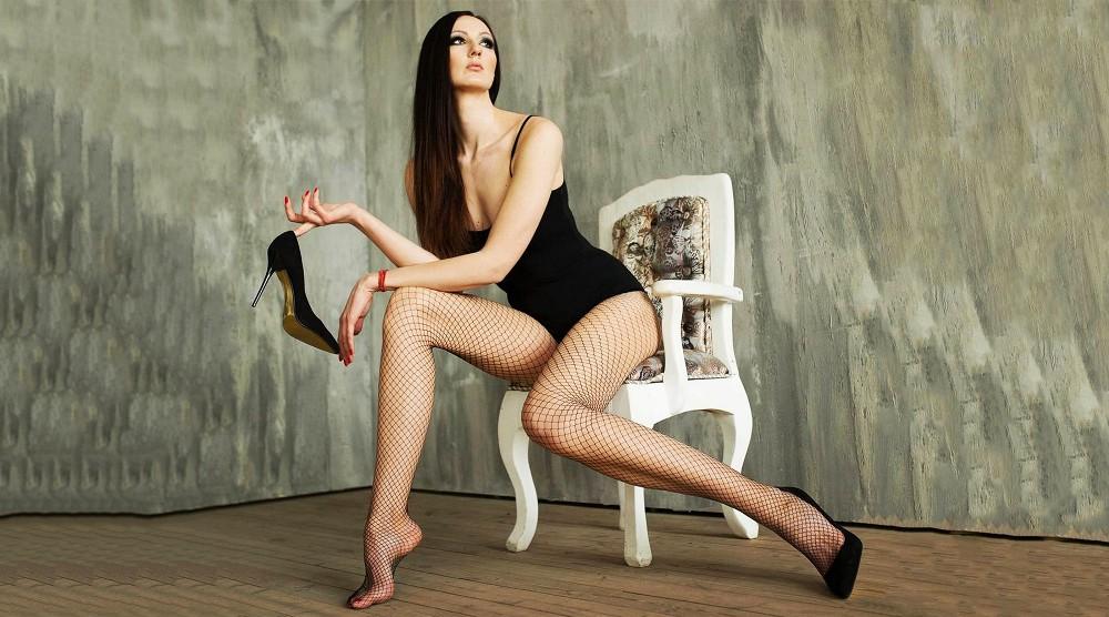 Рекорд. У девушки самые длинные ноги в России