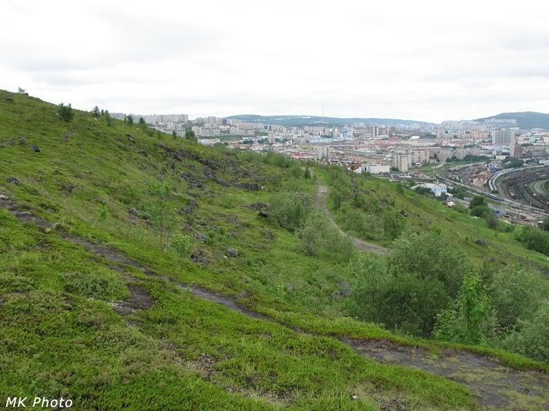 Мурманск и станционные пути
