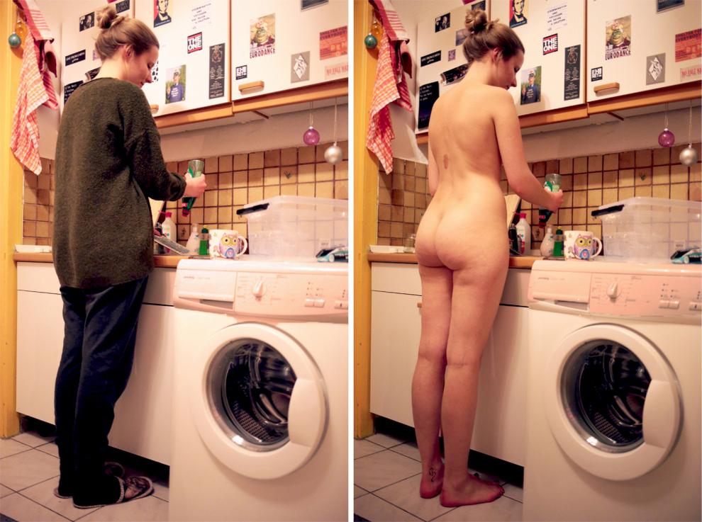 Фотопроект Софии Фогель «В одежде и без»