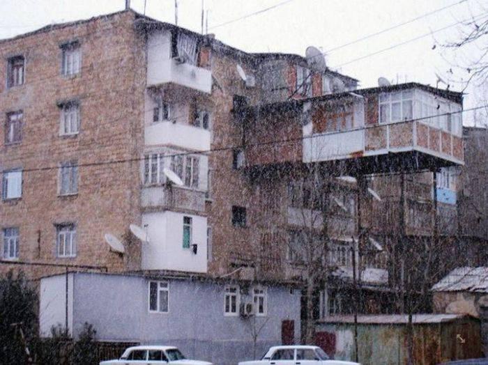 Удивительные балконы