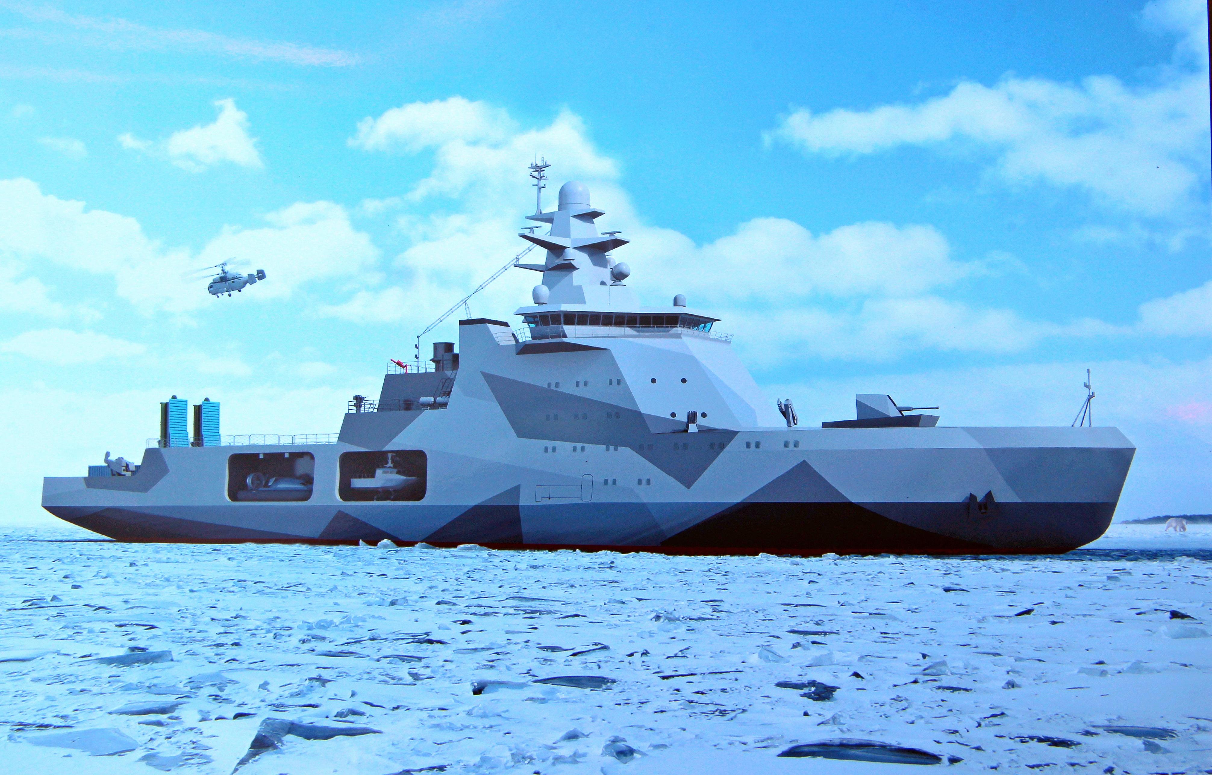 Боевые ледоколы России и море Путина