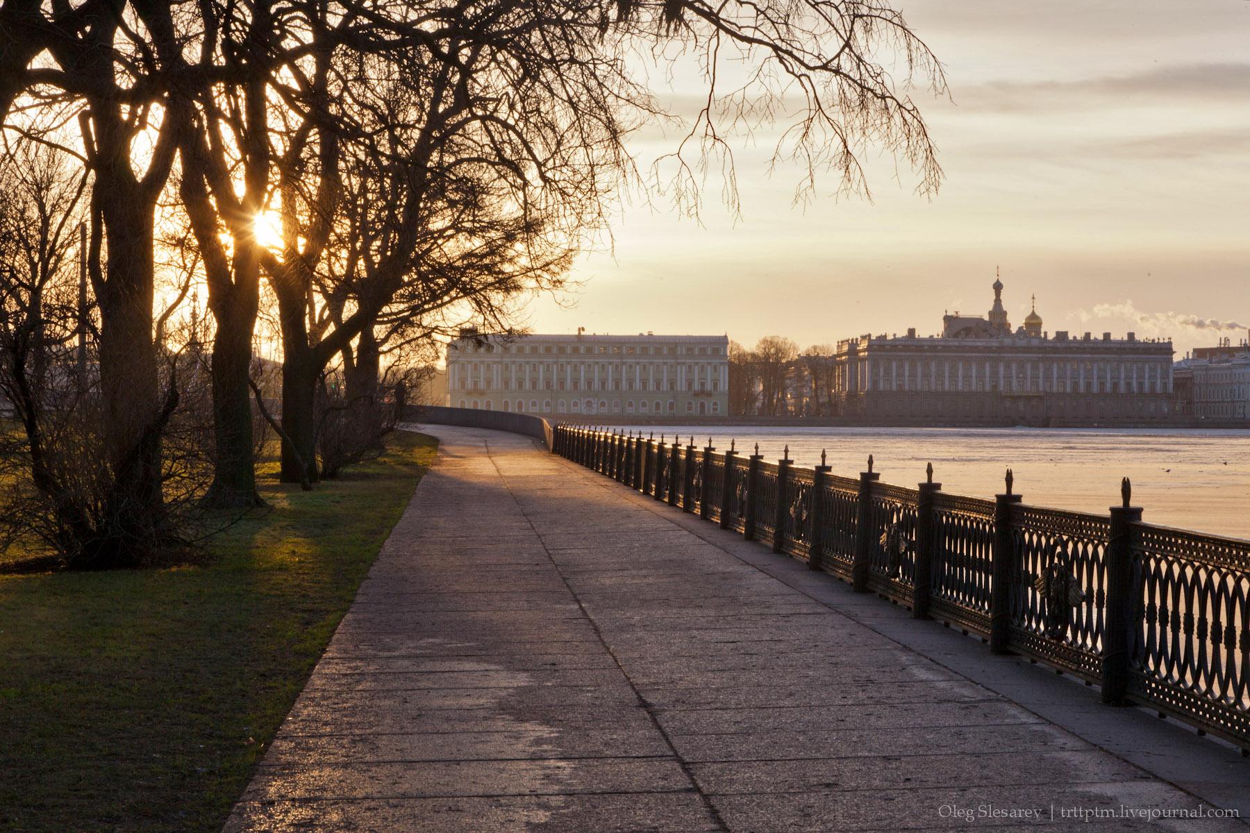 1. Утренние улицы новогоднего Петербурга. Часть II.
