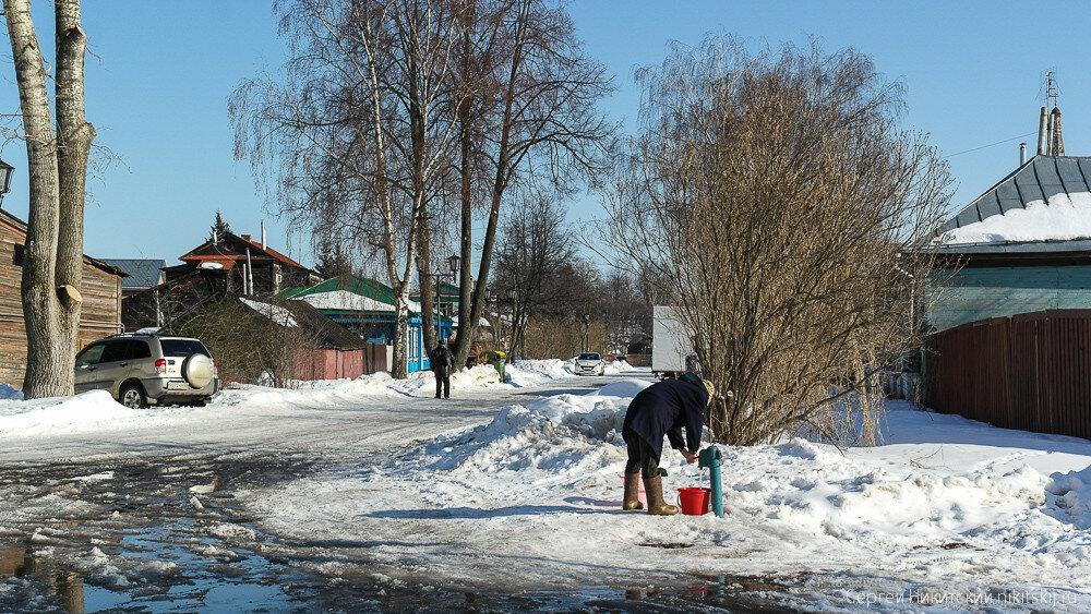 Тихий и уютный городок Суздаль