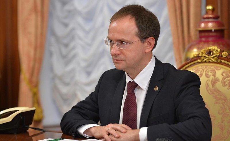 Мединский призвал МИДРФ организовать показ патриотических блокбастеров зарубежом