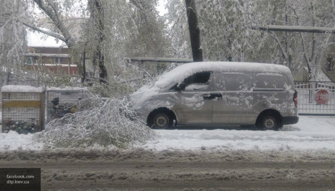 ВМолдавии объявилиЧП из-за снегопада