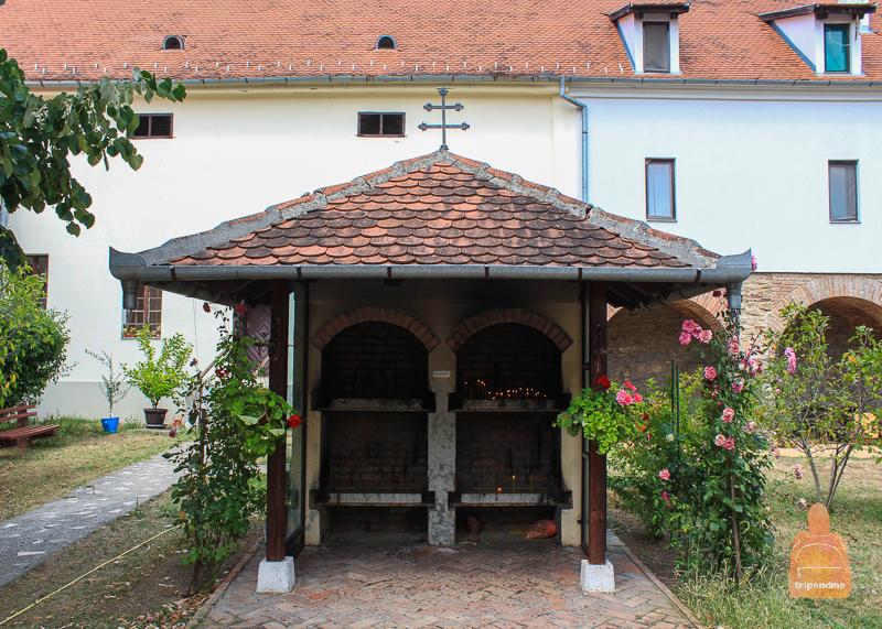 Территория монастыря Месич