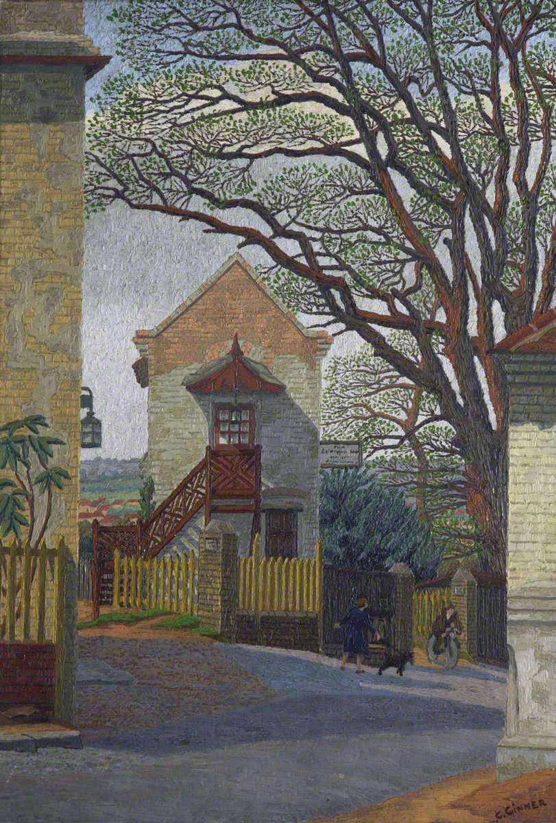 Ginner, Charles, 1878-1952; Spaniard's Corner
