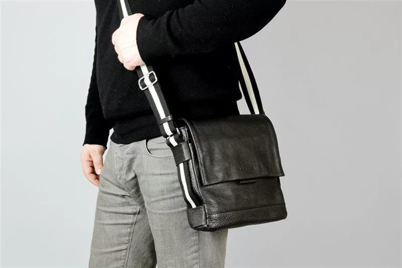 Как купить мужскую сумку через плечо? (1 фото)