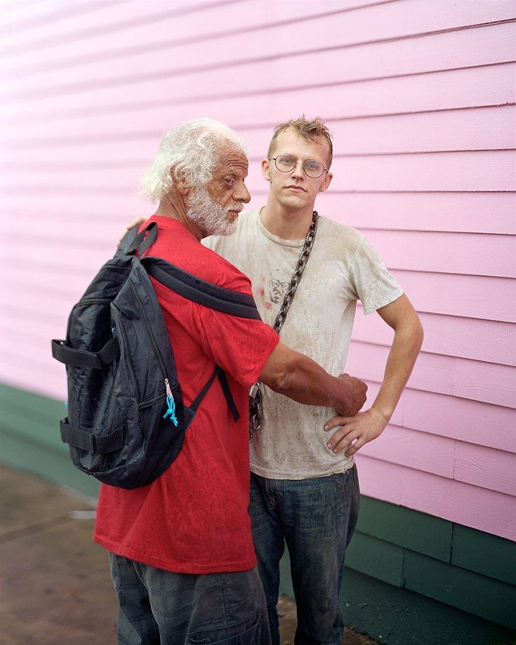 Хьюит и Райан, Новый Орлеан, Луизиана, 2012.