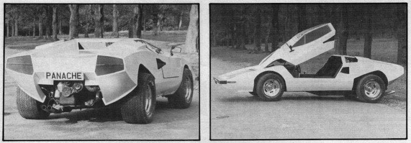 К примеру, в 80-х британская компания Panache Cars предлагала вот такую пародию на Lamborghini Count