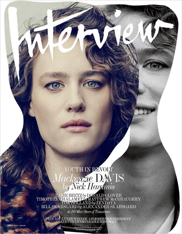 Молодые актёры в Interview Magazine