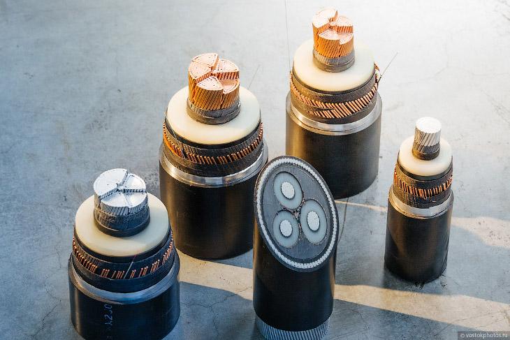 2. «Сердце» силового кабеля — это токопроводящая жила. Так выглядит производственный цех и склад, на