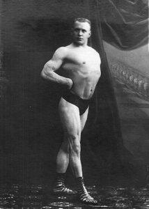 Портрет чемпиона мира по классической борьбе Г.Луриха