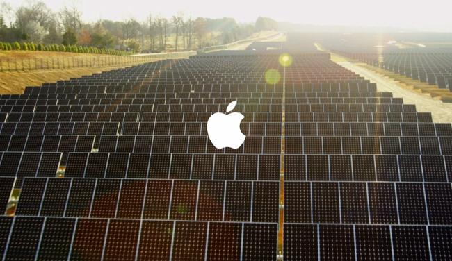 Три китайских поставщика Apple перейдут навозобновляемые источники энергии к следующему году