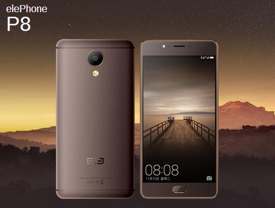 Компания Elephone представила камерафоны Elephone P8 иElephone P8 Mini