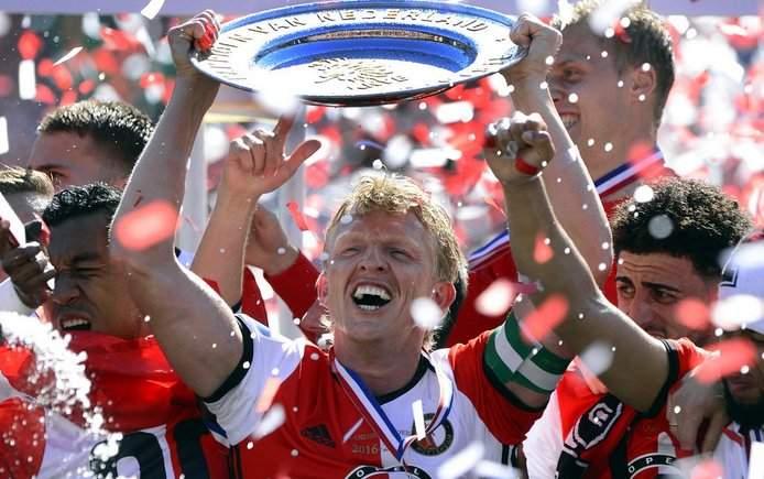 Популярный  голландец Дирк Кейт завершит карьеру после исторического чемпионства «Фейеноорда»