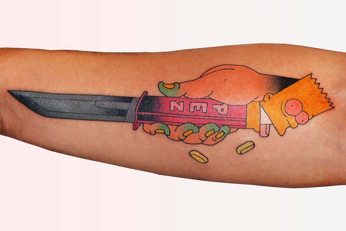Brindi Tattoo – The pop and colorful tattoos from south of France (18 pics)