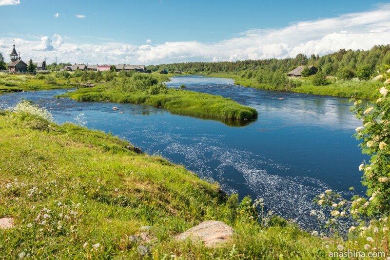 Река Пяльма, Карелия