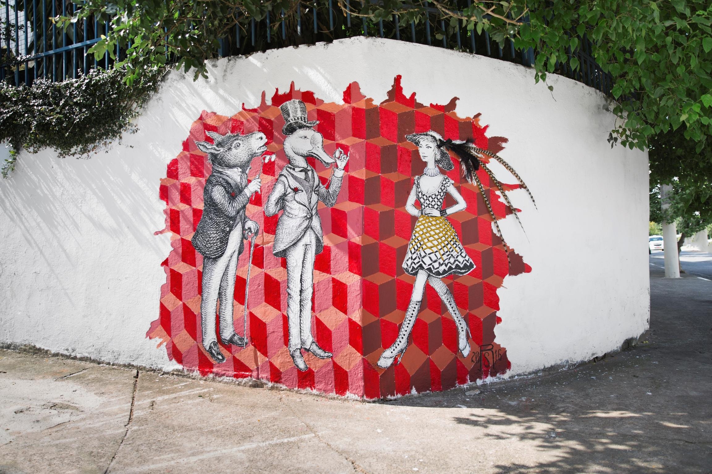 TNT presenteia Sao Paulo com arte urbana