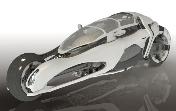 Никлас Армада: концепт мотоцикла Gryph-One