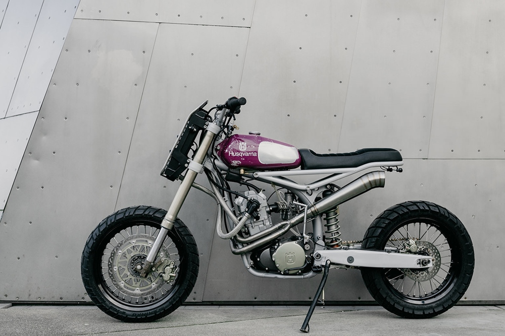 Moto Mucci: кастом дуал-спорт Husqvarna TE 570