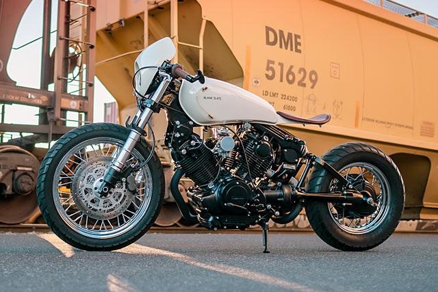 Blank Slate Cycles: боббер Yamaha Virago XV920