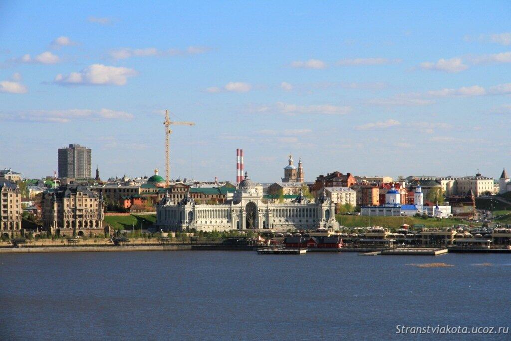 Казанский Кремль, вид со стороны Казана