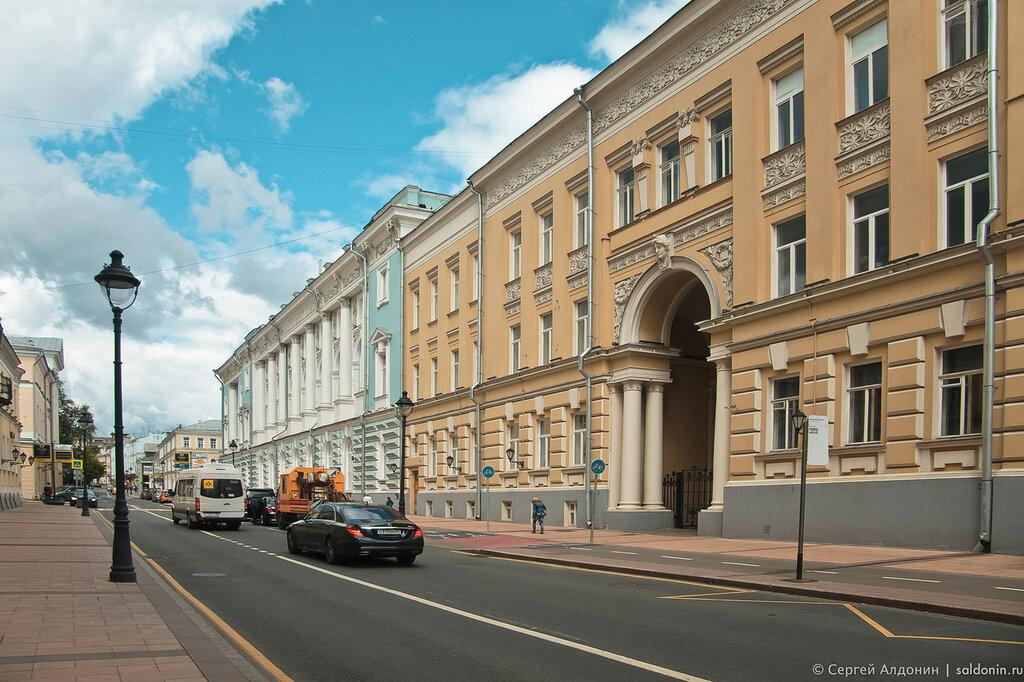 Зоологический и Ботанический Институты Московского Университета