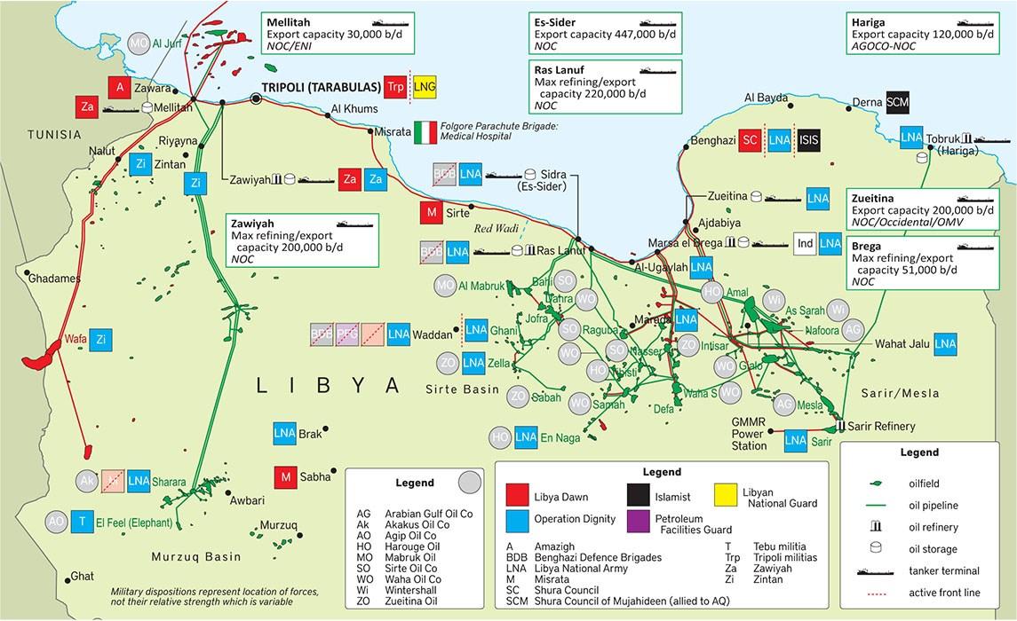 postskriptum.org: Катарский кризис и война за нефть в восточной Ливии