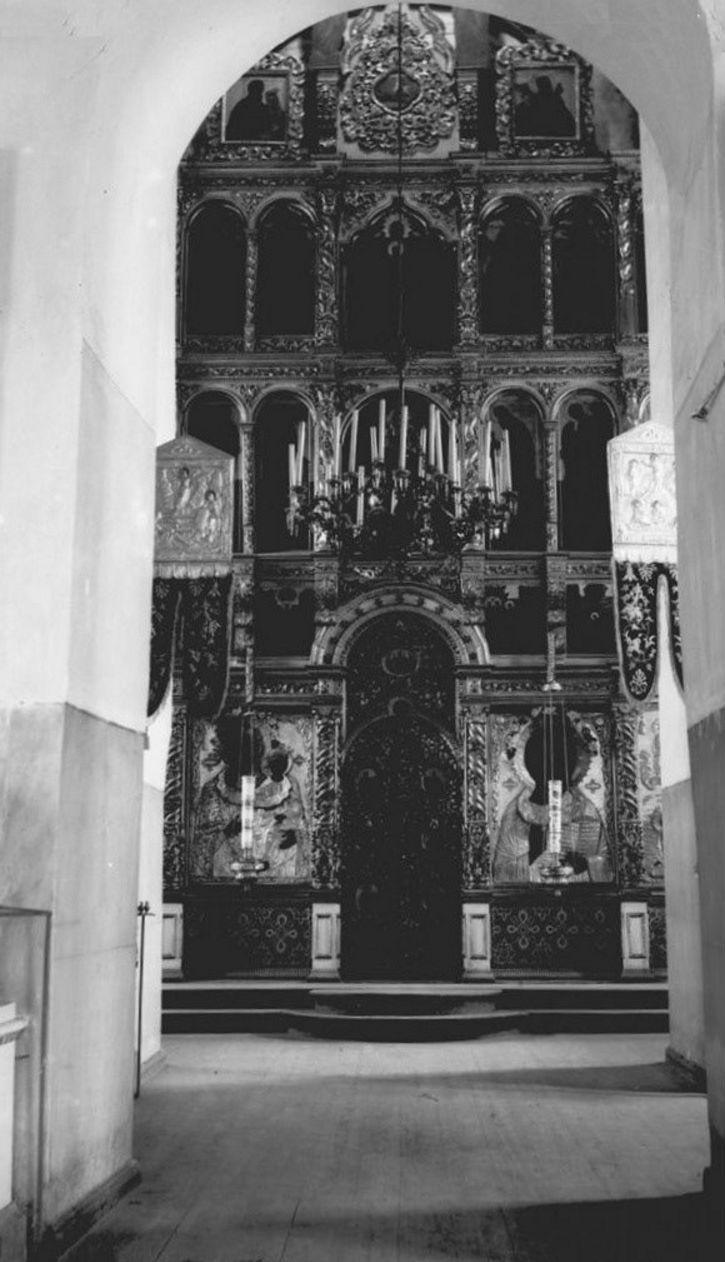 Преображенский собор. Верхняя церковь. Главный иконостас