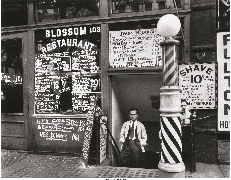 1935. «Blossom Restaurant». Улица Бауэри,103. 24 октября