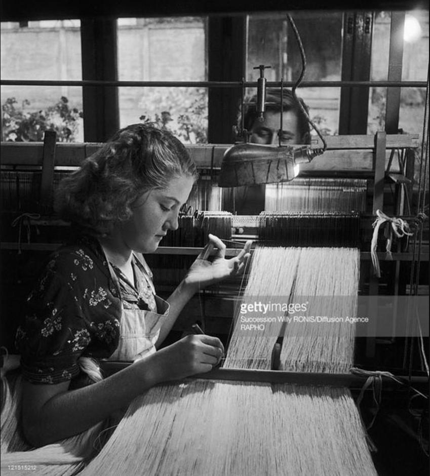 1950. Текстильная фабрика