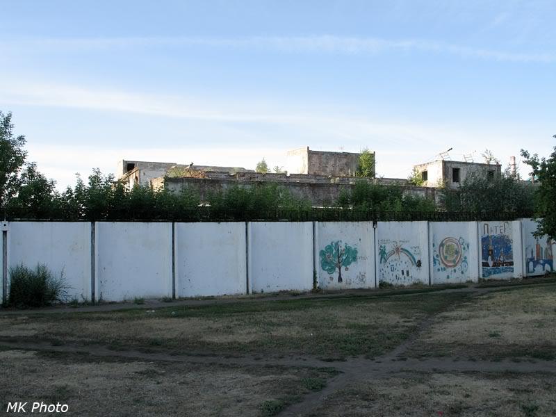 Развалины в центре Омска